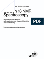 Carbon C13 NMR Spectroscopy