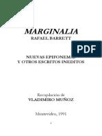 Marginalia - Barrett