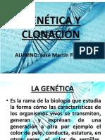 La Genética y La Clonación