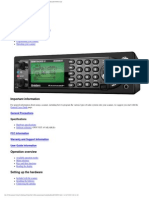 Uniden Bcd996xt Scanner User Guide