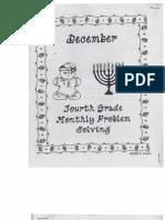 December Problem Solving