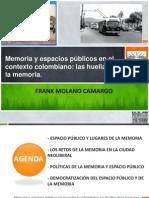 Memoria y Espacio Publico