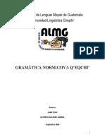 28581198 Gramatica Normativa Q Eqchi Juan Tzoc