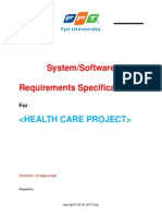 Software Requirements 2 About Health Care