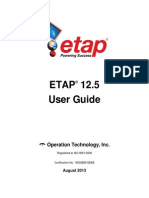 ETAP User Guide 12-5