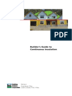 Dow Residential Continuous Insulation Sheathing Guide