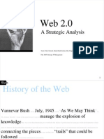 web 2 0 Strategic Analysis