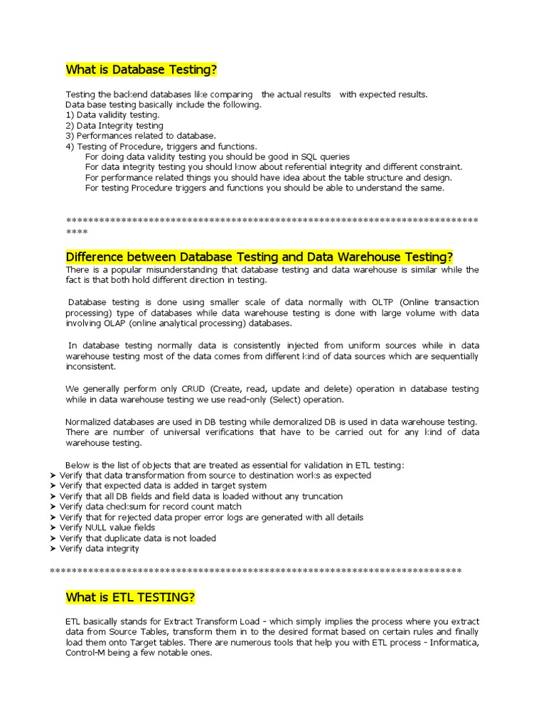 Nice Etl Testing Resume Informatica Pictures Inspiration Entry