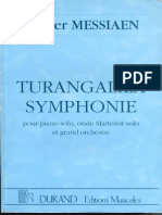 1946 Messiaen, Turangalila Symphony, Score 0