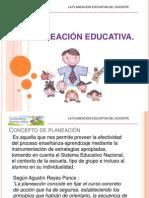 La Planeacin Educativa