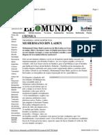 El-Mundo - Mi Hermano Osama' Used in 16-9-2001