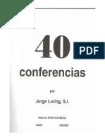 40 Conferencias. P.loring
