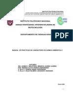 Manual de Quimica Ambiental II