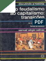 Samuel Sergio Salinas - Discutindo a História - Do Feudalismo Ao Capitalismo - Transições