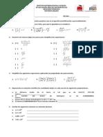 Math Evaluación PDE Segundo Periodo 9º