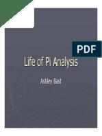 Life of Pi Analysis Ashley Bast