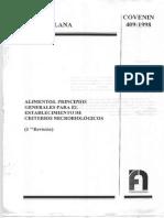 409-98 Criterios Microbiologicos
