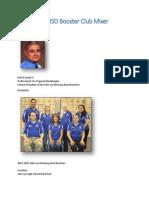 2014 NISD Booster Club Mixer (Transcript), 2014-07-26