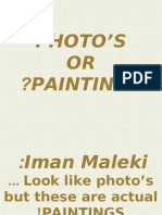 Photos or Paintings