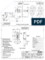GF90 Retractable Packing PGL Flanged Outline 4122e