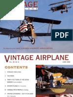 Vintage Airplane - Jun 2000