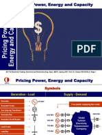 Pricing Power Energy and Capacity
