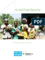 social justice lesson plan - food security