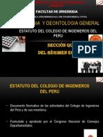 Estatuto Del CIP Sección Quinta