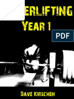 Powerlifting Year 1 PDF