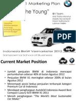 Bmw Marketing Plan