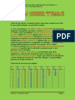 composicion centecimal- ejercicios