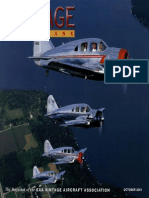 Vintage Airplane - Oct 2001