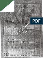 Lahera Parada Eugenio, Introdución a Las Políticas Públicas Pp. 13 - 138