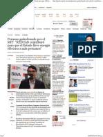 Peruano Galardonado Por El MIT REDCAD Contribuyó Para Que El Estado Lleve Energía Eléctrica a Más Peruanos - Economía Gestión