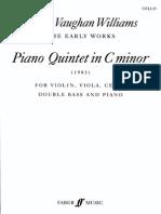 Vaughan Williams Piano Quintet - Cello