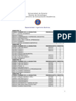 Pensum 340 UDO Química