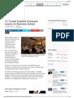 Essential Business School Case Studies - Business Insider