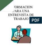 Interview Information Spanish