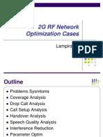 2G RF Network Optimization Cases