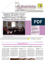 Gaceta Electrónica #3 -InMUJERESDF
