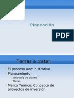 Planeacion Administrativa