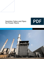 Seamless Tubes and Pipes for Power Plant