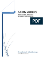 A project paper on Anxiety Disorders (DSM5)