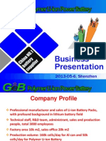 General Electronics Battery Co., Ltd.ppt