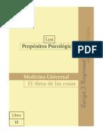 PP6, Medicina Universal – El Alma de las cosas