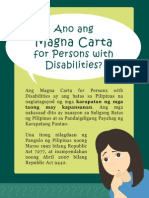 Ano ang Magna Carta for Persons with Disabilities?