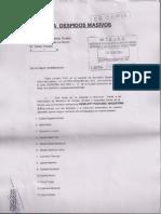 Denuncia Despidos Masivos 18-06-2014