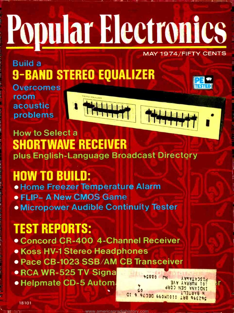 Pe 1974 05pdf Loudspeaker Distortion Making Power Amplifier 30 8211 100watts