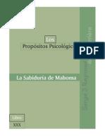 PP30, La Sabiduría de Mahoma