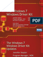 The Windows 7 Windows Driver Kit